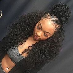 85 Box Braids Hairstyles for Black Women - Hairstyles Trends Box Braids Hairstyles, Braided Ponytail Hairstyles, Easy Hairstyles For Medium Hair, Braided Hairstyles For Black Women, Ponytail Styles, Braids For Black Hair, Hairstyles 2018, Crochet Hairstyles For Kids, 2017 Hairstyle