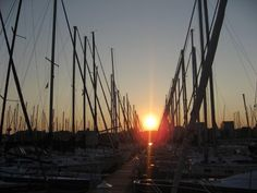 Sun sets on Etobicoke after beautiful summer sail on Lake Ontario. (Laura Lucas)