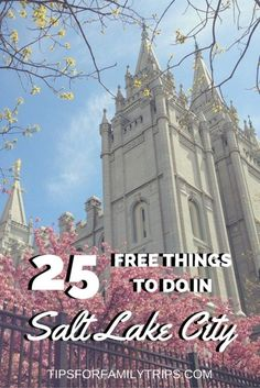 25 FREE things to do in Salt Lake City, Utah - from a local! | tipsforfamilytrips.com | spring break | summer vacation | family