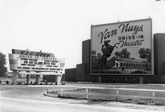 Van Nuys Drive-in theatre, 1948