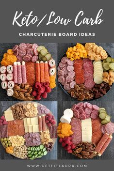 Keto Charcuterie Board Ideas - Health For Perfect Life Charcuterie Recipes, Charcuterie And Cheese Board, Charcuterie Platter, Cheese Boards, Crudite Platter Ideas, Meat Cheese Platters, Antipasto Platter, Grazing Platter Ideas, Cheese Board Display