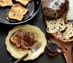 MyPanera Recipe: A Cinnamon Raisin French Toast. Made this morning, didn't use honey and added cin & nutmeg, and served with a little confectioners sugar!! So good!!!