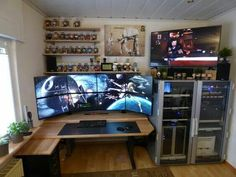 Homeoffice Of A software Developer and Series Junky First Posting Scheme Of Home Office Setup Ideas