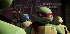 D- see, that's the thing, Raph. You never think things through.  R- Uh... was that suppost to fit?