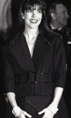 Princess Caroline of Monaco,1987.