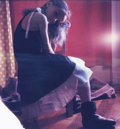 Melanie Rodriguez - polaroid
