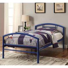 Coaster Furniture Iron Beds and Headboards Baines Metal Beds Twin Bed - 400029T