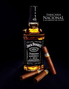 Jack Daniels Whiskey with Cohiba Cigars | by Sergio Carvalho Fotos