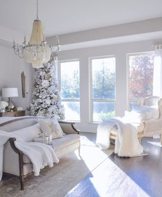 Winter Bedrooms – Simple Christmas Touches