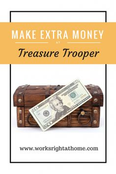 Make Extra Money at Treasure Trooper  #extracash #rewards #onlinerewards #earnmoney #extramoney #money