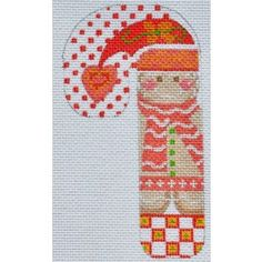 Gingerbread Girl Candy Cane