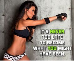 NEVER too late. Every day is another chance to start over :)