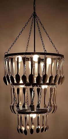 flatware+chandelier.jpg (311×636)