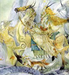 В мире фантазии. Художница Stephanie Pui-Mun Law. . | Наслаждение творчеством