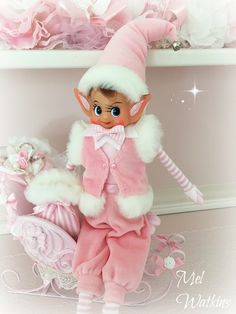 New Design Pink Elf - Mel Watkins