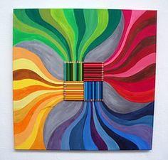 colored pencil art - exercise to teach them about tones and hues High School Art, Middle School Art, Ecole Art, Arc En Ciel, Collaborative Art, Color Pencil Art, Elements Of Art, Watercolor Pencils, Art Club