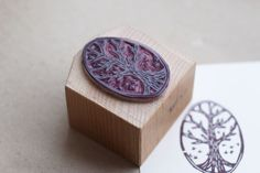 This is one beautiful tree stamp!!  ONE STAMP in a day project by Masaaki Oyamada