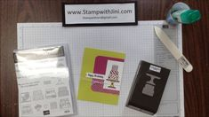 Learn this quick and easy tip for helping you stamp and punch all the images on your punch at one time. Card Making Tips, Cake Videos, Piece Of Cakes, Cardmaking, Punch, Stampin Up, Crafting, Paper Crafts, Make It Yourself
