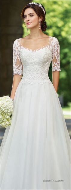 187 ideas for spring wedding dresses 2017 (85)