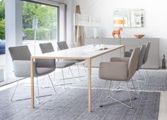 JALIS von COR Dining Chairs, Modern, Furniture, Eat, Classic, Home Decor, Colors, Dining Table Chairs, Armchairs