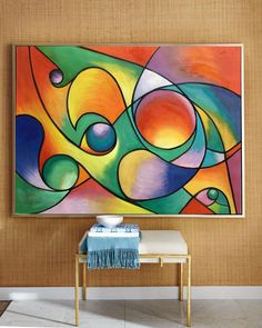 Abstract acrylic art on canvas, contemporary art movements Cubist Art, Abstract Art, Abstract Paintings, Modern Art Paintings, Indian Paintings, Abstract Landscape, Oil Paintings, Landscape Paintings, White Framed Art
