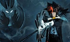 Cosplay of Sora in Halloween Town from Kingdom Hearts