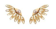 : Amandina : | Joyería en Filigrana | Filigree Jewelry | AM1505 Pearl Ear Jacket