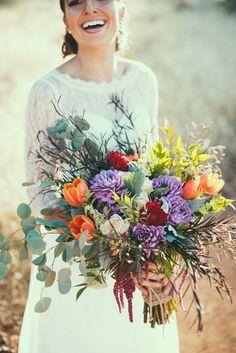 M Creations - WIld flower Style
