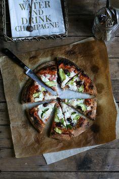 Pizza a impasto indiretto con farina di grano saraceno germinato