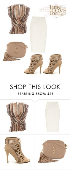 """""""Untitled #539"""" by kimberlydalessandro ❤ liked on Polyvore featuring Salvatore Ferragamo, Roland Mouret and Yves Saint Laurent"""