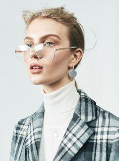 "last night - ""Four Eyes"" / Teen Vogue December 2016"