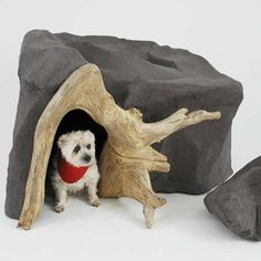 Cave Dogs | 6 Outrageous Doghouses | Photos | Pets | Living Spaces | This Old House