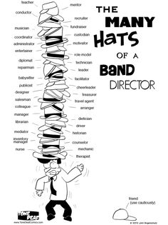 Tone Deaf - The Many Hats of a Band Director