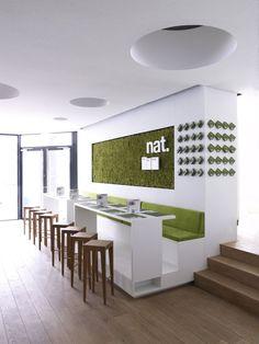 Nat. Fine Bio Food Restaurant Interior by eins:eins Architects » CONTEMPORIST
