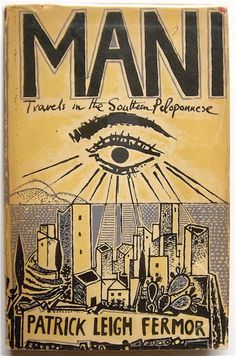 cover by John Craxton for one of my favourite books ever about my favourite place ever