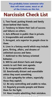 Who discovered narcissistic personality disorder
