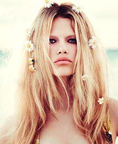 Bardot-alike.
