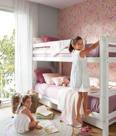 Habitaciones infantiles (muy personales) con papel pintado