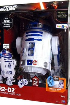 An interactive R2D2 that bleeps and bloops!