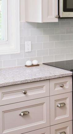 Kitchen | Backsplash - Rittenhouse Square (Arctic White 190) | DALTILE