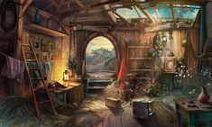 Abandoned House by NikitaBolyakov on deviantART Abandoned houses Fantasy art landscapes Devian art