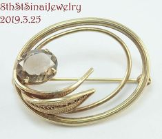Charm Leaf Brooch Pin Style Delicate Simulate Pearl Rose Gold Plated Cocktail Lover Classic Gift