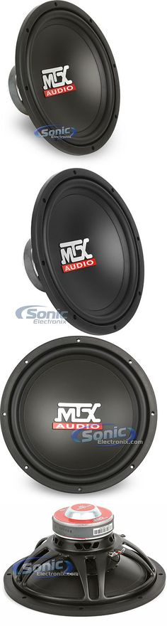 Car Subwoofers: Mtx Audio Tn12-04 200W Rms 12 Single 4 Ohm Terminator Car Subwoofer -> BUY IT NOW ONLY: $49.95 on eBay!