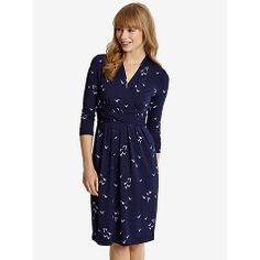 Buy Joules Monica Dress, Navy Oyster Catcher Online at johnlewis.com