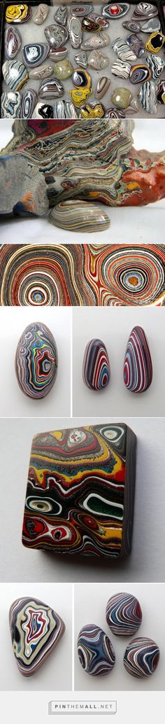 Beautiful Fordite Stones Created from Layers of Automotive Paint are a By-Product of Old Car Factories