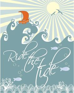 Pray for Michelle at Sweet Something Designs as she rides the tide as her graphic illustrates