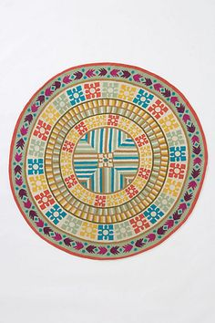 decor, color, round rug, anthropologie, area rug, rugs, anthropologi rug, bedroom, kiara round