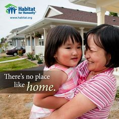 There's no place like home. Liberty Homes proudly volunteers for Habitat for Humanity of Monroe County. Liberty Home, Inspirational Quotes With Images, Habitat For Humanity, Helping Hands, Where The Heart Is, Volunteers, Better Life, Habitats, This Is Us