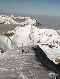 Skiing.... Off-piste on the Schilthorn, Switzerland (2970m) by nicoatridge, via Flickr  https://www.facebook.com/#!/DiMartinoChiropractic