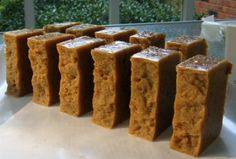 crocpot oatmeal and honey soap